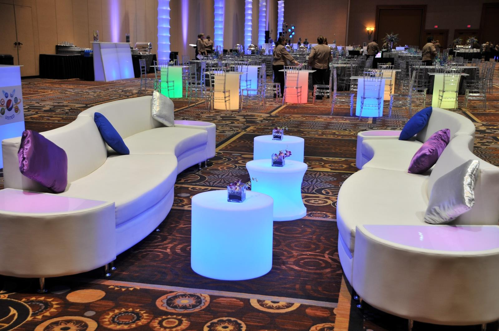 Event planning company furniture rental in las vegas for Z furniture las vegas